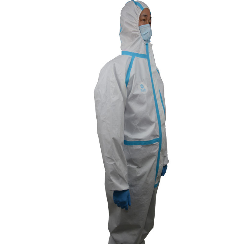 Non woven disposable protective coverall waterproof surgical gown