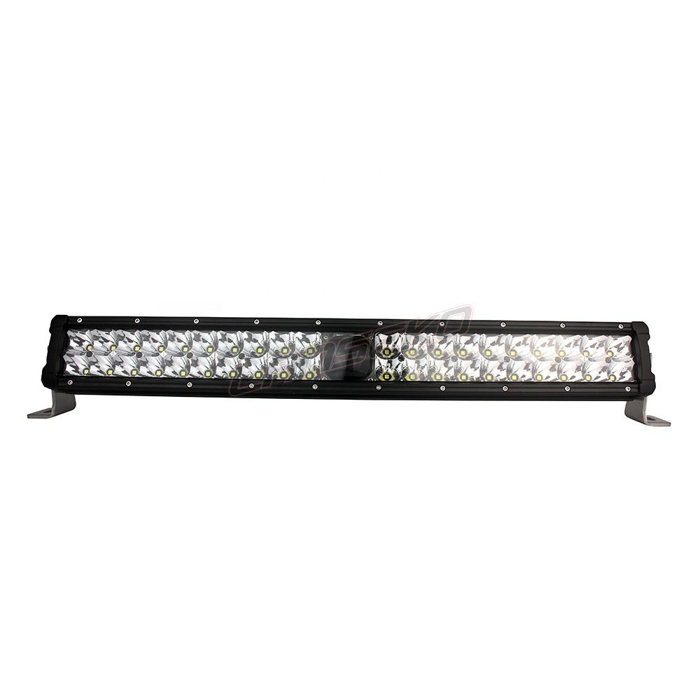 RV LED Porch Light rectangle clear lens camper RV trailer Black exterior 2000LM
