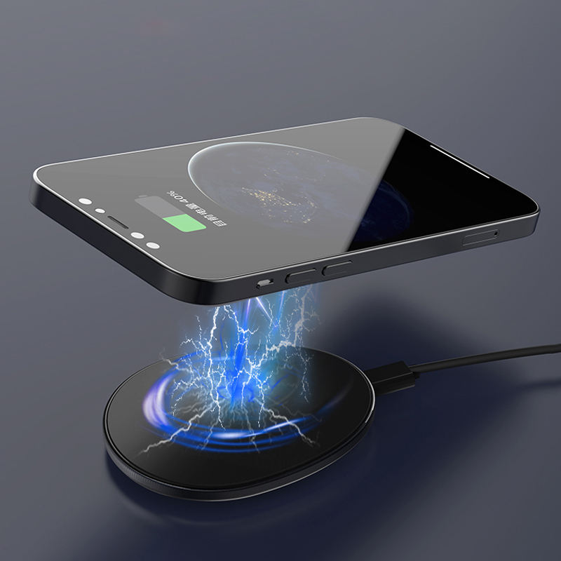 Ready Stock Magnetic Wireless Charger Manufacture New Product Mobile Phone Wireless Charging Magnetic for Iphone 12 Pro Max X 11