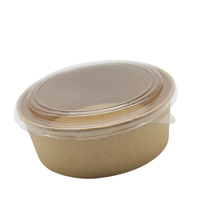 Bowls Biodegradable ECO Friendly Food Grade Biodegradable Disposable Kraft Bowls