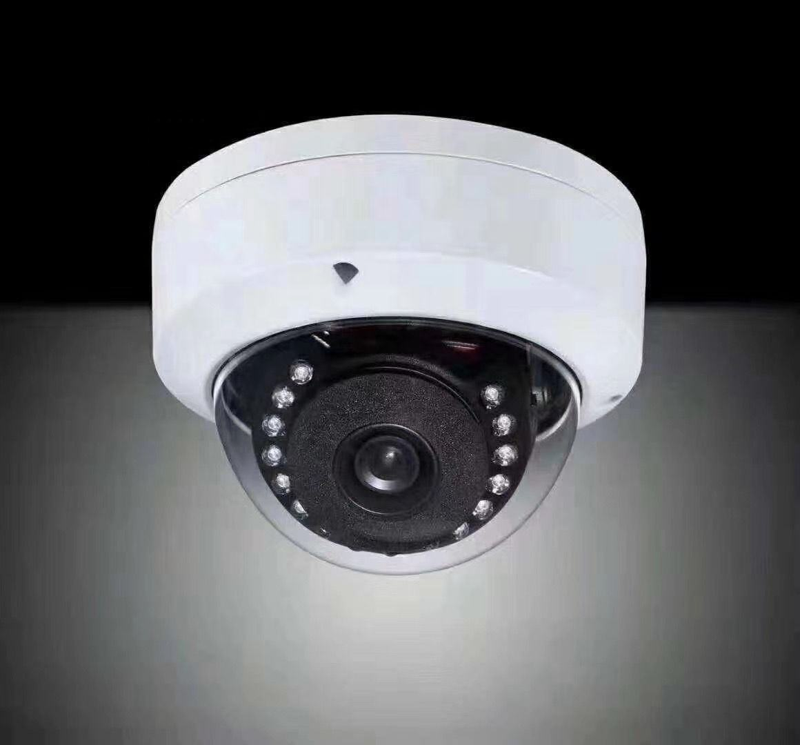 PoE Vandal-proof Network Mini Dome IP Security system Camera 4MP Fixed Lens Day and Night ONVIF