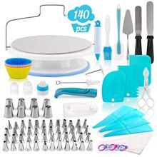 140-Piece sugarcraft cake decoration supplies fondant cake decorating tools pastry baking utensils