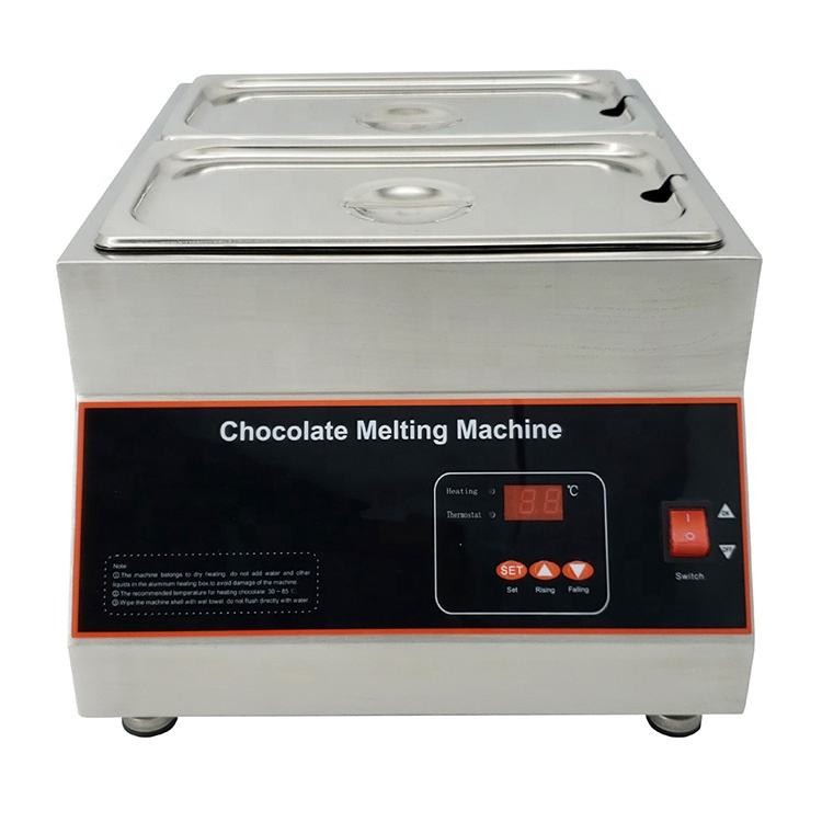 Kitchen Equipment Suppliers Snack Melting Chocolate Melting Machine Commercial Chocolate Melter