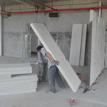 green transport and time saving cement eps sandwich panels