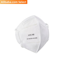 Alibaba Select Disposable FFP2 particle folding half face mask EN149 (600pcs/Carton)