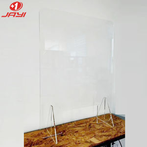 Factory custom plexi glass protection clear acrylic buffet sneeze cough guard