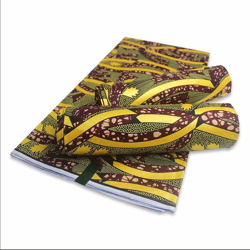 Latest high quality 100% cotton exclusive golden wax african wax prints for wedding