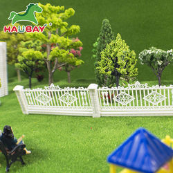 Accept Custom Order Plastic Scale Model Train Fence, China New Arrived  Plastic Scale Model Train Fence