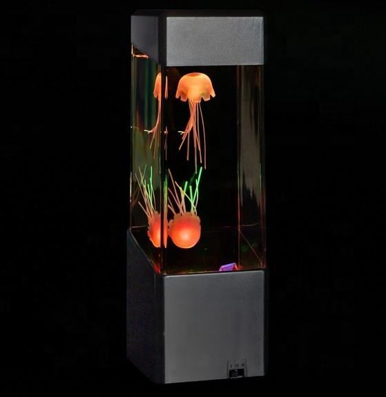 LED farbwechsel mini aquarium jellyfish lampe