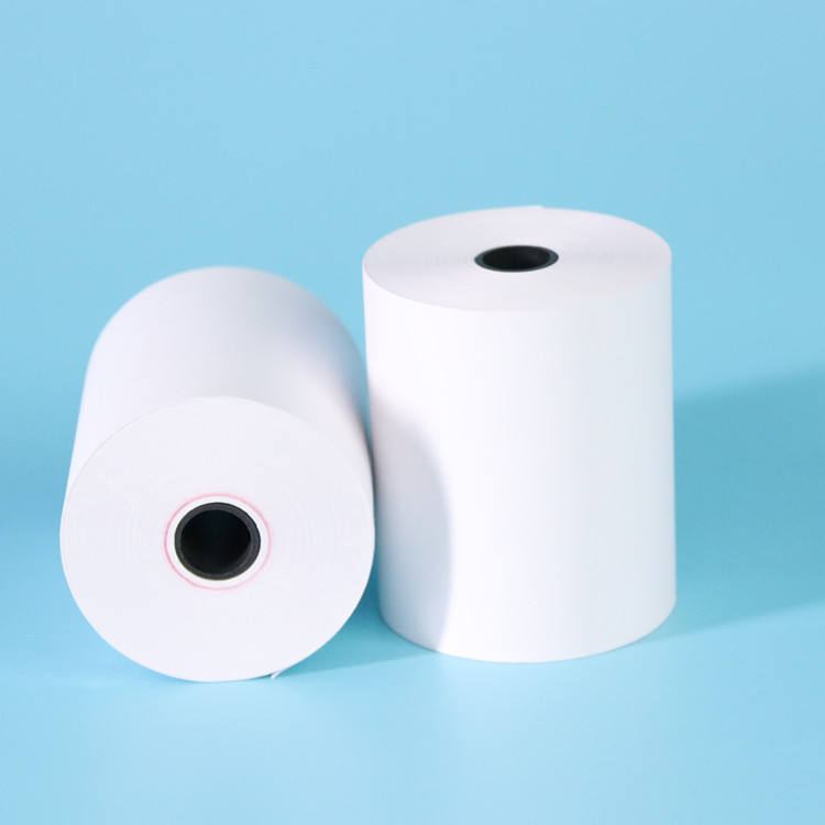 Factory Price High Quality BPA free 80*80 thermal cash register paper rolls pos/atm