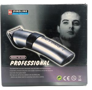 Original DINGLING RF-609 Null Einstellbar Professionelle Wiederaufladbare Haar trimmer Japan design Haar Clipper