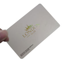 cheap clear hard pvc/plastic custom transparent business card printing