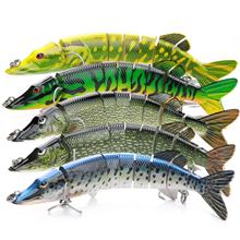 VTAVTA Artificial Pike Lure Bait Multi Jointed Bait 198mm 67g Lifelike Crankbaits Fishing Wobblers Swimbait Sea Fishing Lure