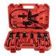 9PCS Pipe Removal Tools Hose Clip Plier Swivel Jaw Hose Clamp Pliers Kit Set For Ratchet