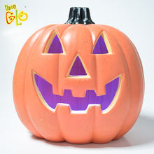 Promotional Cool Halloween Artificial Flashing Led  Pumpkins For Sale