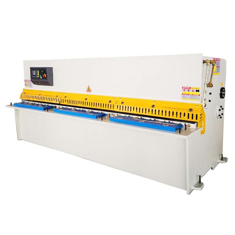 2019 CNC sheet metal shearing machine adopts hydraulic shearing machine