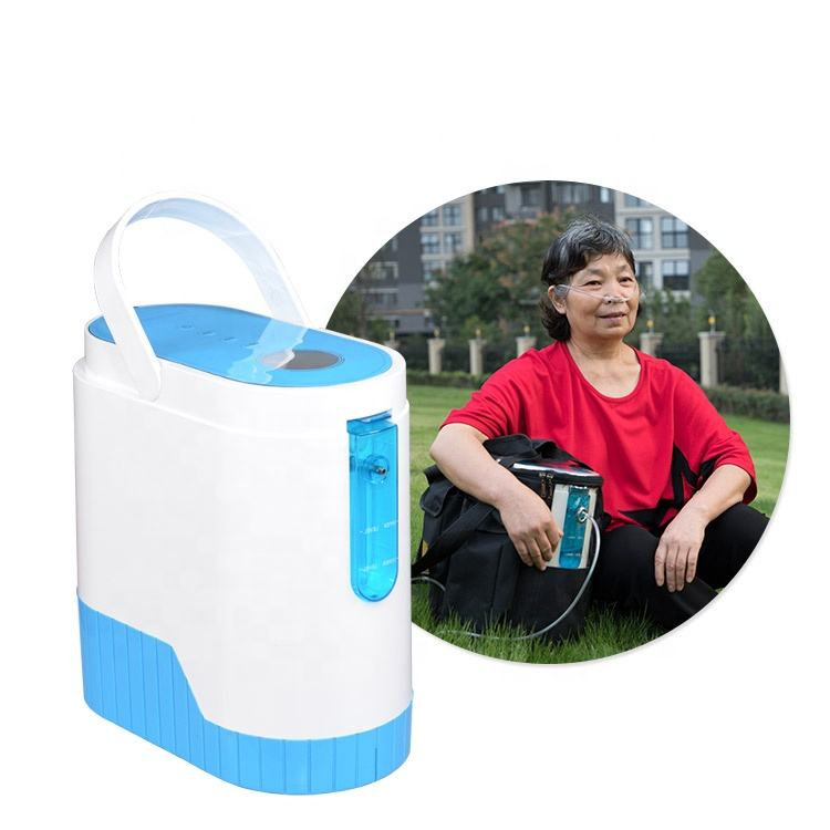 High Quality Wholesale Custom Cheap Olive Mini Portable Oxygen Concentrator OLV-C1 With Rechargeable Battery