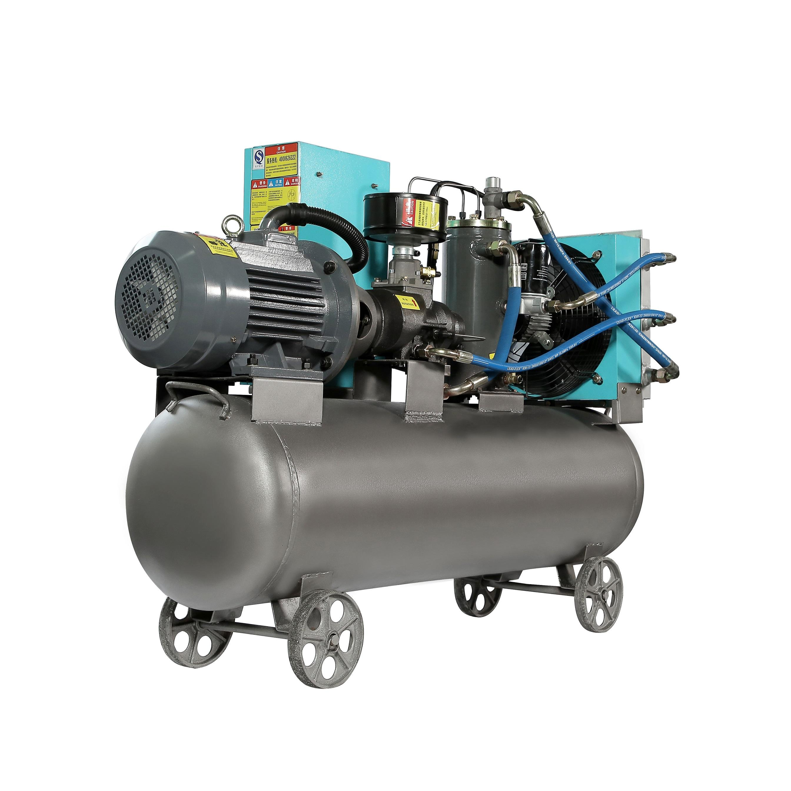 Grosir Italia AC Power Air Screw Compressor Industri 10hp