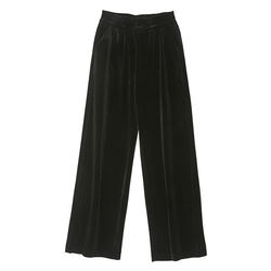 Casual Fashion  Loose Velvet Trousers Women