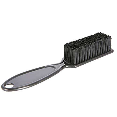 Amazon Fade Brush Comb Scissors Cleaning Brush Barber Shop Skin Fade Vintage Oil Head Shape Carving Cleaning Brush