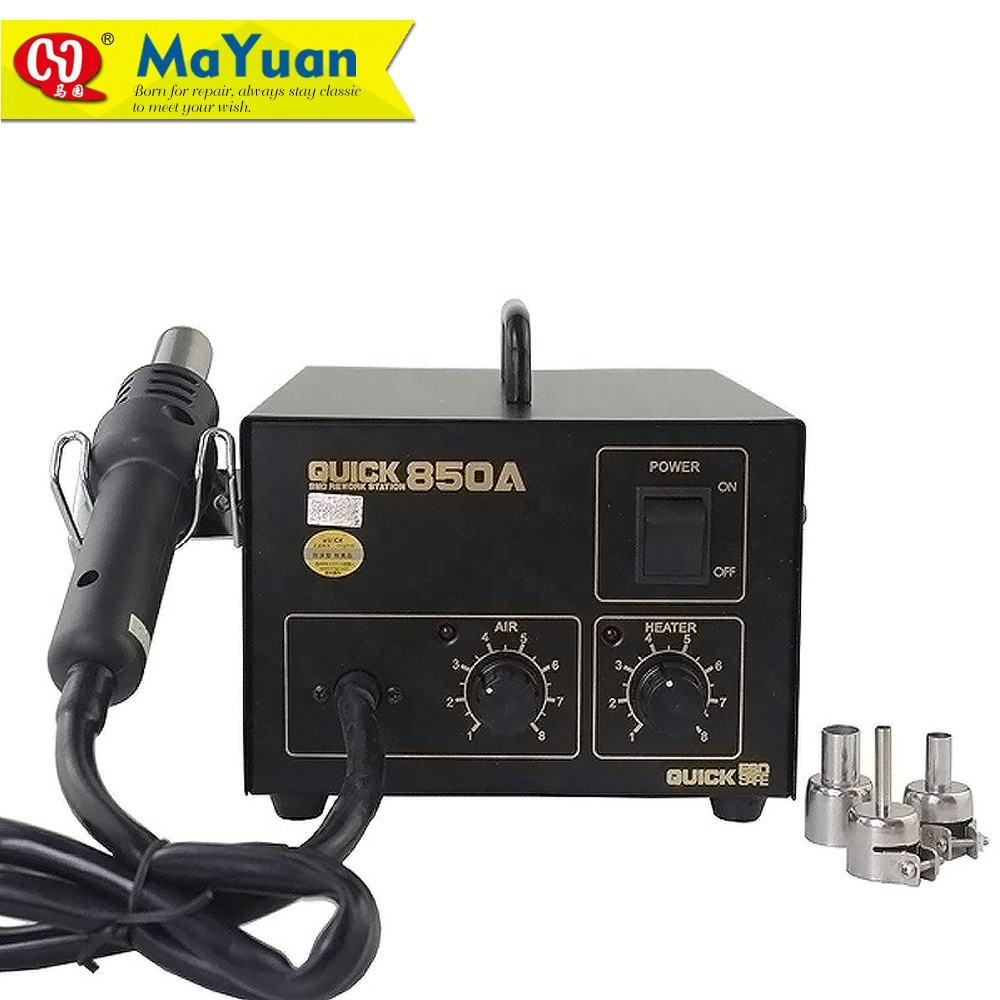 QUICK 850A Hot Air Gun Lead-Free Desoldering Rework Station