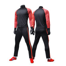 Blank track suit custom Soccer training sportswear boys and girls tracksuits unisex jogging suit high quality sports suit