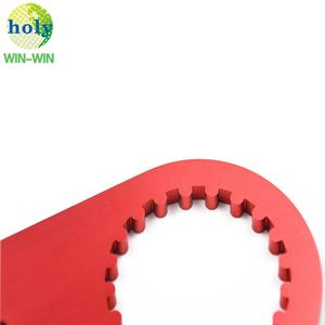 OEM Red Anodized Aluminum Motorcycle Cam Wheel holding Tool with Precision CNC Machining Aluminum CNC Service