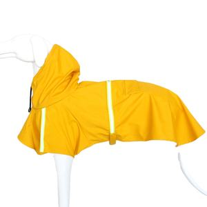 Dog Rain Coat Personalized Fancy waterproof Coat Clothes FOR small pet In the evening glow