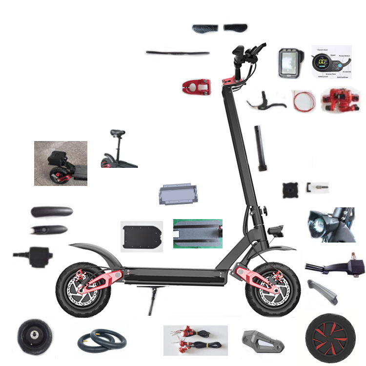 Ecorider E4-9 Factory Best spare parts electric scooter,wholesale parts for electric scooter