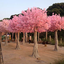 Dongguan Romantic decoration large artificial blossom tree sakura branches artificial cherry trees