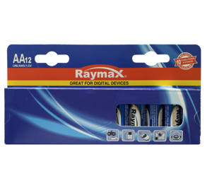Raymax Private Label New Package 1.5V LR6 AA Alkaline Battery Premium Dry Batteries