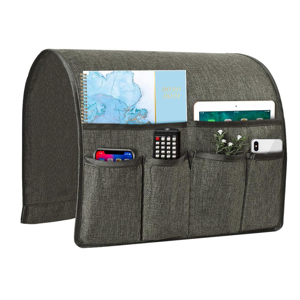 Hot sale customized household remote holder sofa foldable storage bag organizer