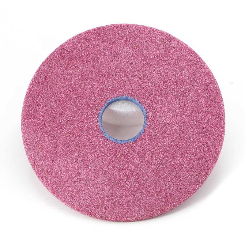 Wholesale China Manufacturer 175X6X32MM Pink Aluminium Oxide Bench Grinding Wheel for sharpening Chain Saw