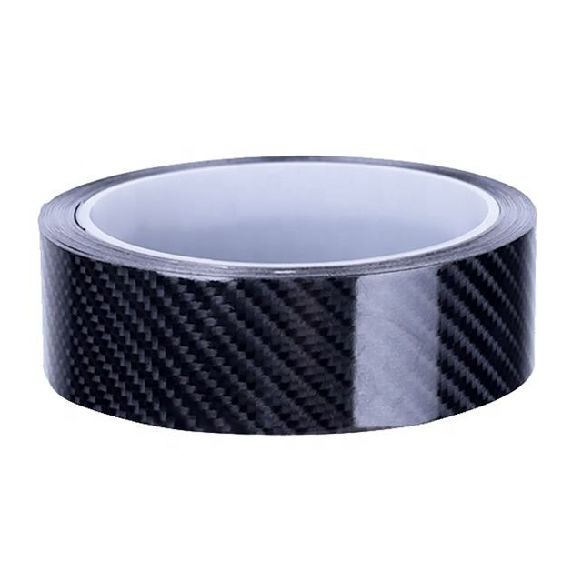 5D Car Door Protector Strips Door Sill Scratchproof Carbon Fiber Vinyl Sticker 10Meter Car Anti Scratch Bumper Strip Accessories