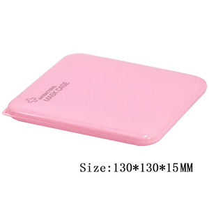 Portable kid storage box plastic face mask storage box case for face mask