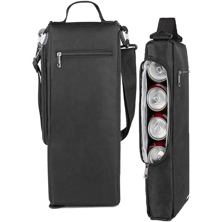 Golf Cooler Bag Soft Golf Bag Cooler Insulated Hidden Small Cooler Bag für 6 Pack von Cans oder 2 Wine Bottles