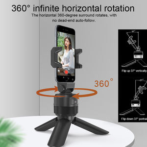 Auto Selfie Face Tracking selfie stick holder 360 Rotation Portable smart phone mount smart shooting Apai Genie