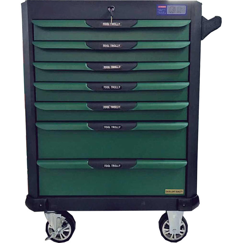 Combination lock 7 drawers large tool box cabinet with 333 Pieces tools
