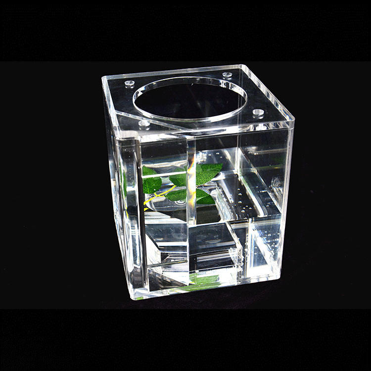 Large project custom Transparent large fish tank acrylic aquarium for Seaworld