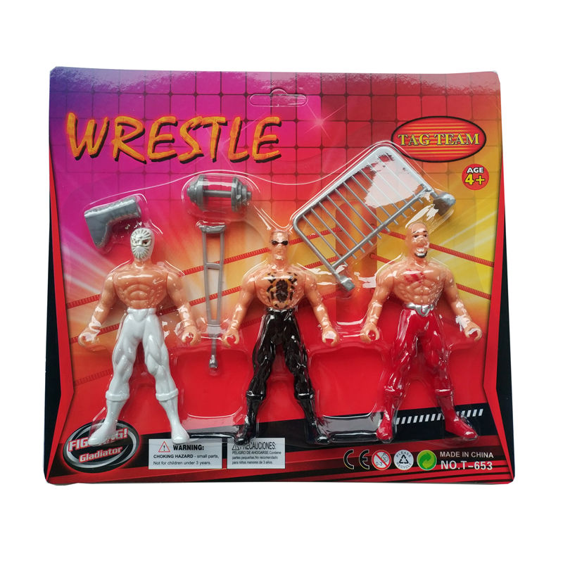 Action Figure Toys WWE Occupation Wrestling Gladiator Characters Style Movable Figures Wrestler Toy Anime For Boys