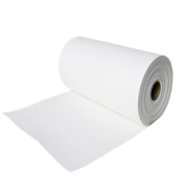 Ceramic sublimation heat transfer paper roll for blast furnace insulation