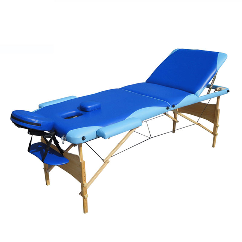 Fast delivery wooden massage tables bed spa furniture for pregnant women cosmetology