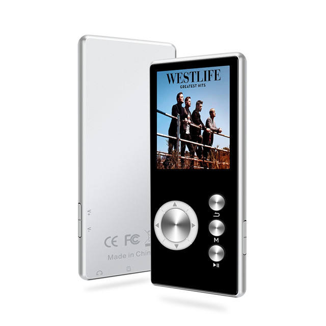 Bluetooth 4.1 Lossless MP3 Player 8GB HiFi Portable Audio Walkman With FM Radio EBook Voice Recorder MP3 Music Player