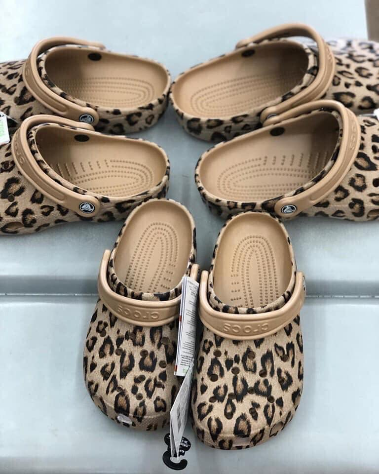 adult print Eva slippers summer teen kids flat sandals men and women leopard garden clogs