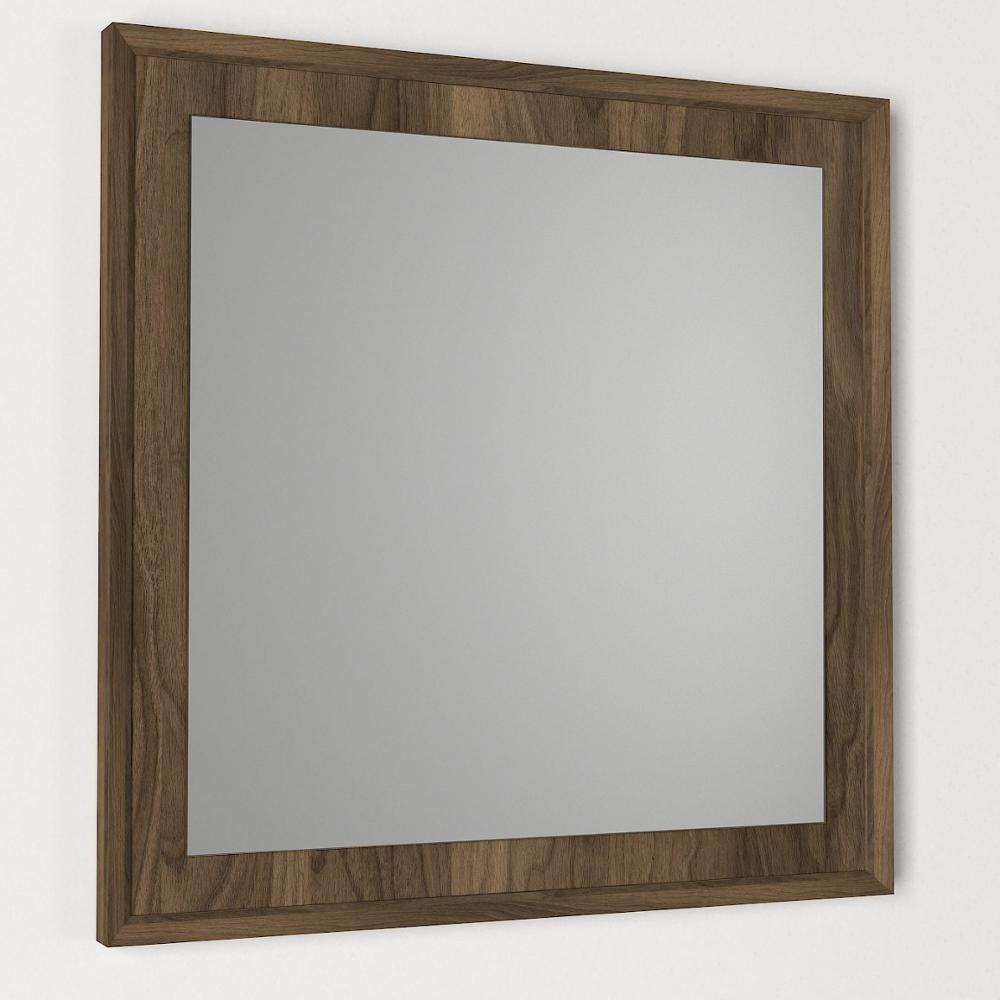 Exclusive Oscar Modern Decorative Wall Wooden Framed Mirror