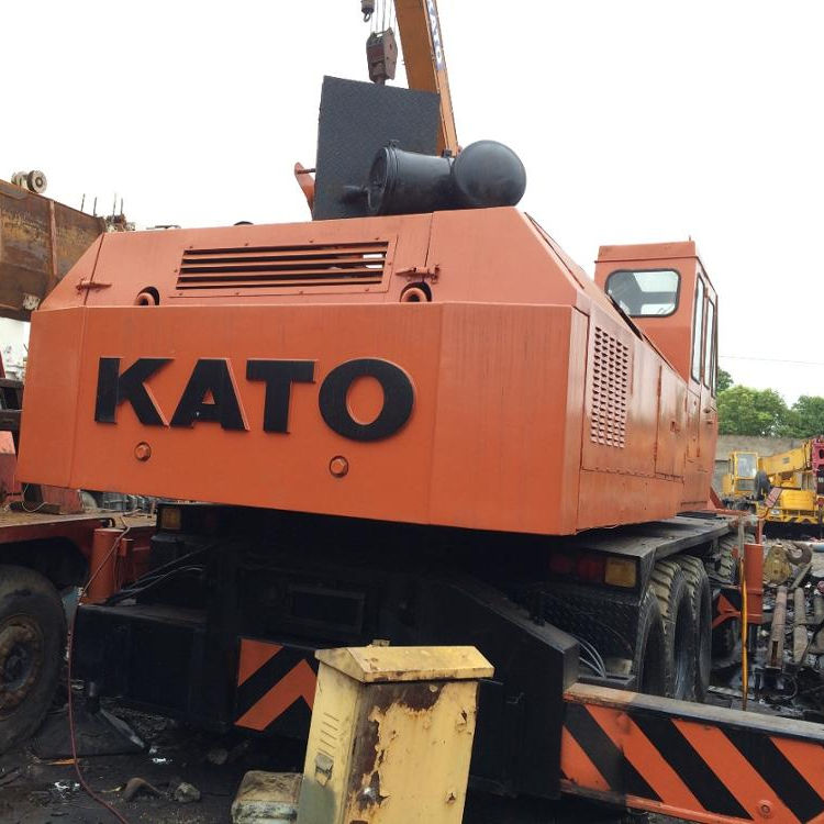 Kato high efficiency truck crane used 80ton crane nk800e