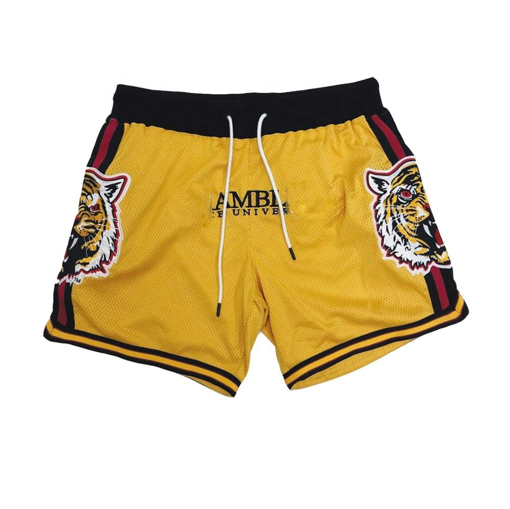 2020 Latest Cool dry custom sublimated mesh polyester mens basketball short