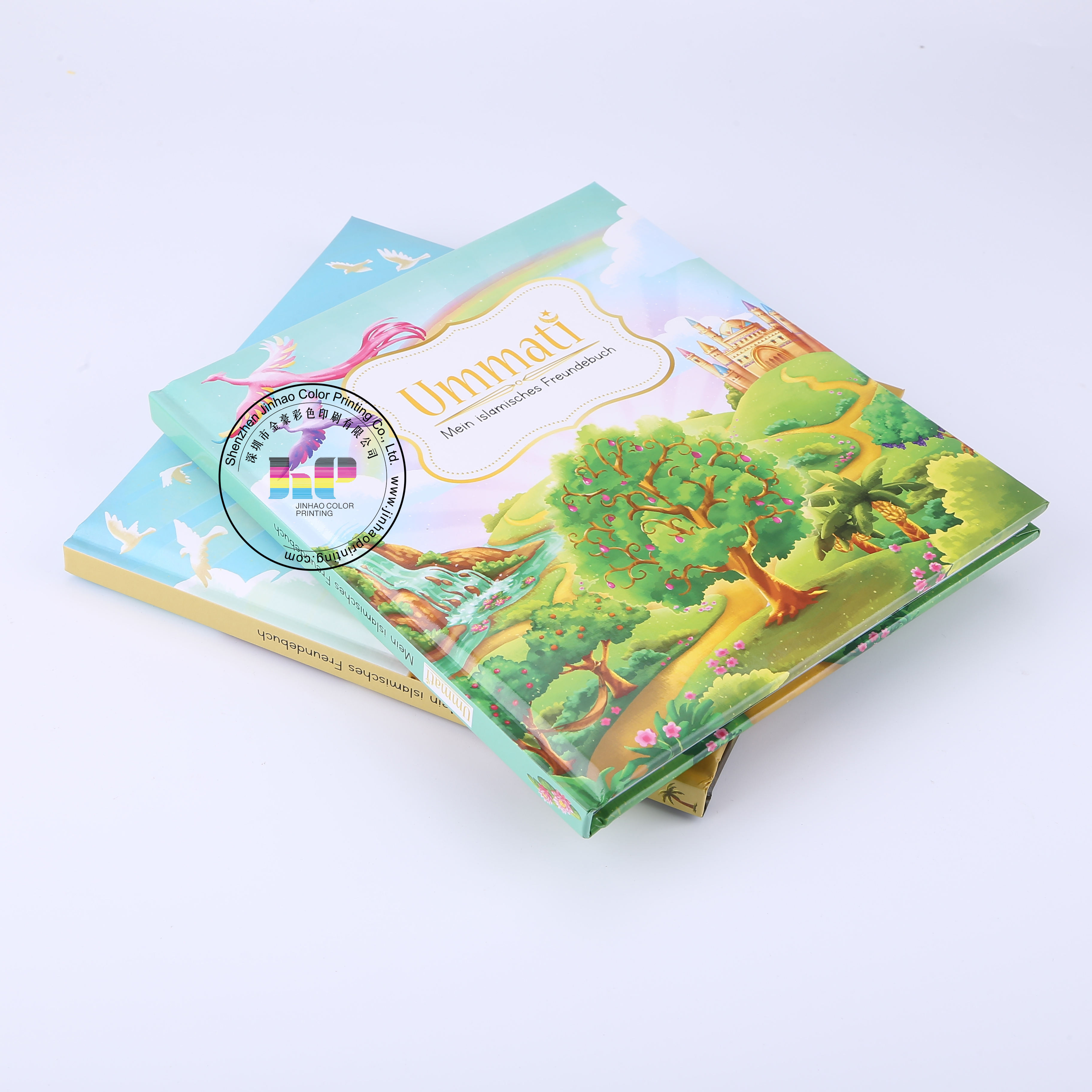 Wall kids paper world map and poster edition brochure magazine printing in Guangdong