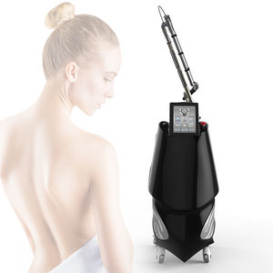 Professional 600Ps Pico Picosecondเครื่องQ Switched Nd Yagเลเซอร์Tattoo Removal