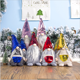 Cunjie 2020 new item Christmas paillette faceless Santa Claus dolls Christmas toy decoration